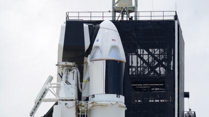 Vandaag nieuwe poging om Amerikaanse Crew Dragon te lanceren, 50 procent kans op gunstige omstandigheden