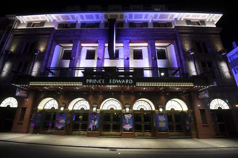 Alle musicals op West End, de Londense theaterbuurt, zijn voorlopig opgeschort.