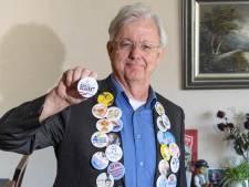 Het Hengelose bedrijf de Buttonkampioen bedankt premier Rutte, met een button natuurlijk