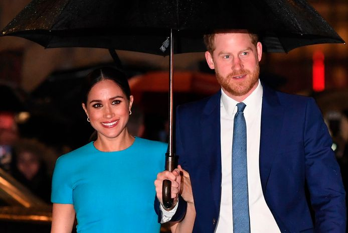 Meghan en Harry.