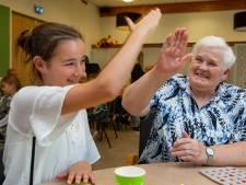 Kinderen komen een middagje bingoën bij Sint-Elisabeth
