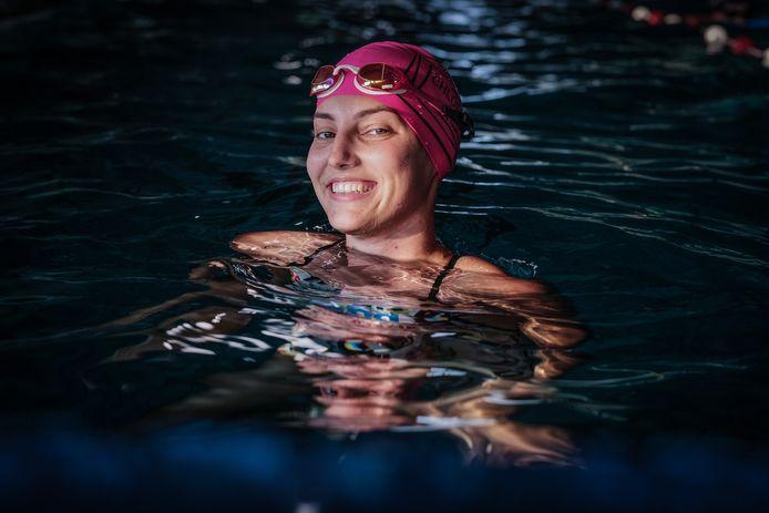 Zwemster Esmee Anne de Meulmeester uit Giesbeek is verkozen tot 'Uniek Sporttalent 2018'.