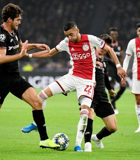 Ziyech in top vier van Ajax-verkopen