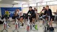 Spinningmarathon ten voordele van Kom op tegen Kanker