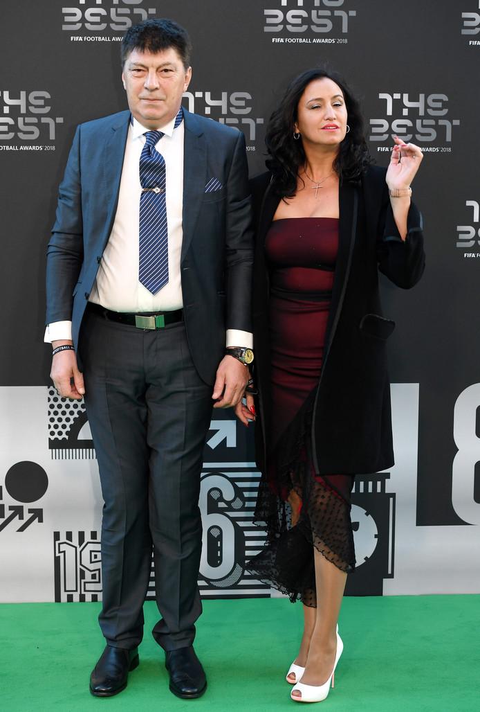 Rinat Dasajev en zijn vrouw Maria del Mar.