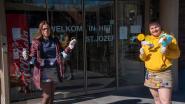 Chiro Overschelde maakt paasdecoratie voor bewoners rusthuis