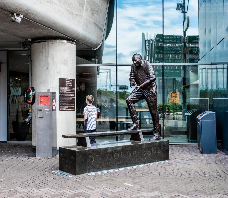 Nog altijd heeft Bobby Haarms een plek in het hart van Ajaxfans van alle leeftijden. Beeld Nosh Neneh