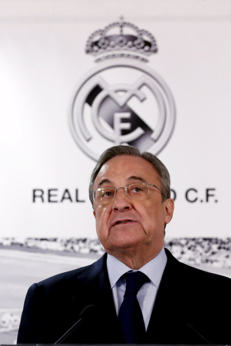 """La super-ligue européenne relancée par Florentino Pérez? """"Un concept fou"""""""