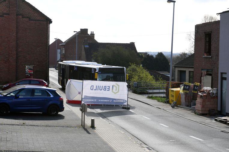 Dodelijk ongeval met lijnbus op de Wilselsesteenweg in Kessel-Lo