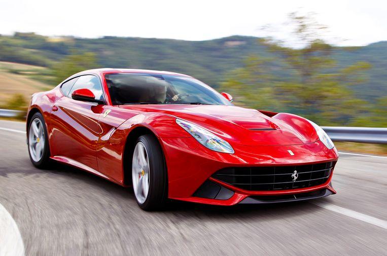 Auto: Ferrari. 'Een mooiere auto is er niet gemaakt.' Beeld Ferrari Berlinetta