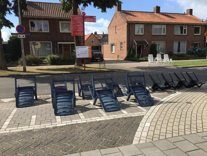 Plekjes voor het corso in Zundert zijn al gereserveerd langs de kant.