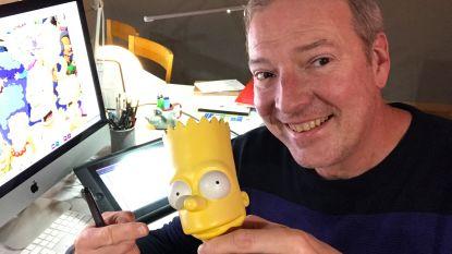 """'The Simpsons' worden 30 - Deel 2: Erwin werkte als enige Vlaming mee aan animatieserie: """"Dankzij mij heeft Matt Groening het nu over 'Belgian fries'"""""""