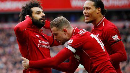 Liverpool lacht nu ook de vloek van Chelsea weg en blijft op titelkoers na fantastische goal Salah