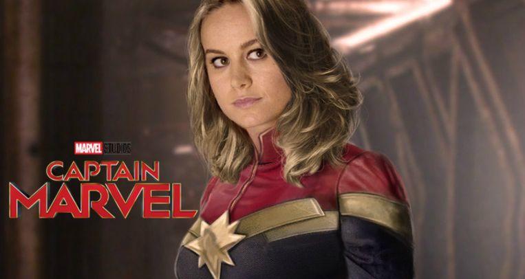 Brie Larson - captain marvel - niet uit de film