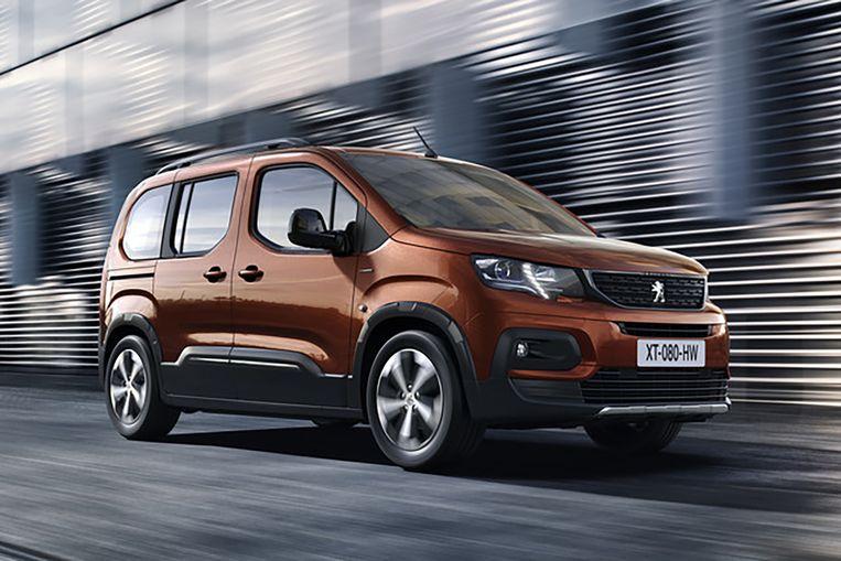 De Peugeot Rifter Beeld Peugeot