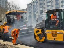 Asfalteren Churchillplein race tegen de klok: 'we zijn vóór de marathon klaar'