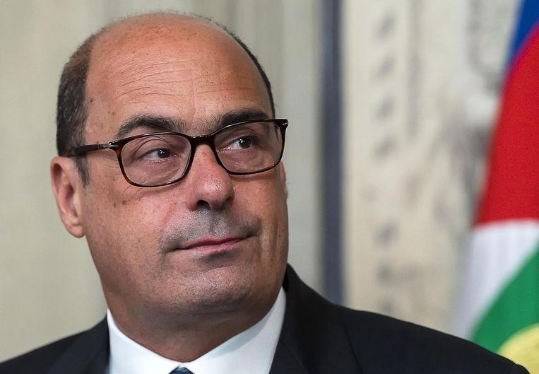 Nicola Zingaretti, partijleider van de Italiaanse Democratische Partij (PD).
