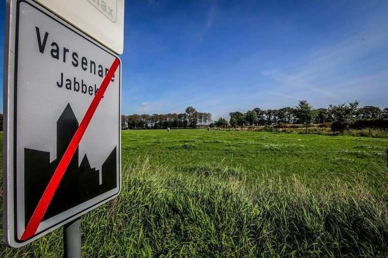 De plek waar de nieuwe verkaveling Varsenare-Noord binnen enkele jaren onderdak zal geven aan vierhonderd nieuwe gezinnen.