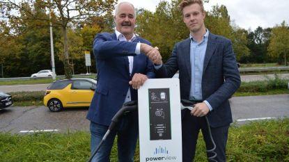 Laad voortaan de batterij van je elektrische wagen op bij het Huis van de Limburgse Ondernemer