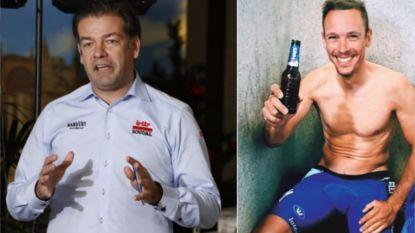 """Lelangue verscherpt alcoholbeleid bij Lotto-Soudal, maar... """"Tuurlijk mag Gilbert nog een wijntje drinken"""""""