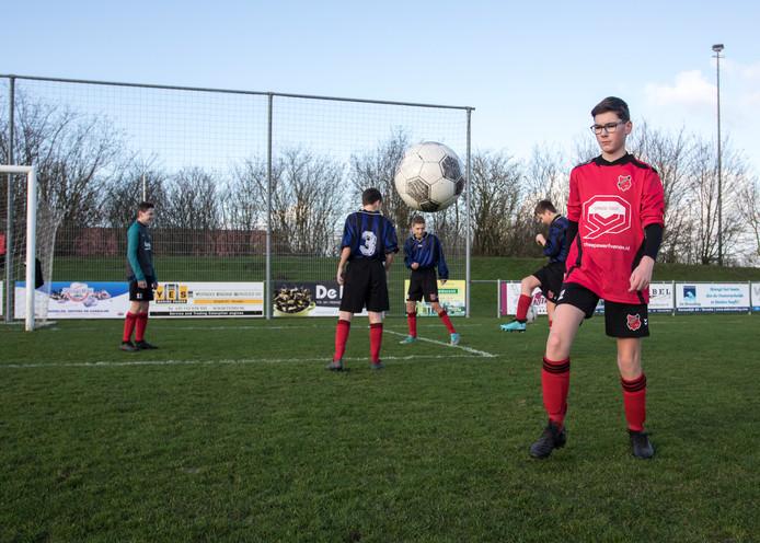 Voetbal is alles voor Ramon Riedijk uit Yerseke