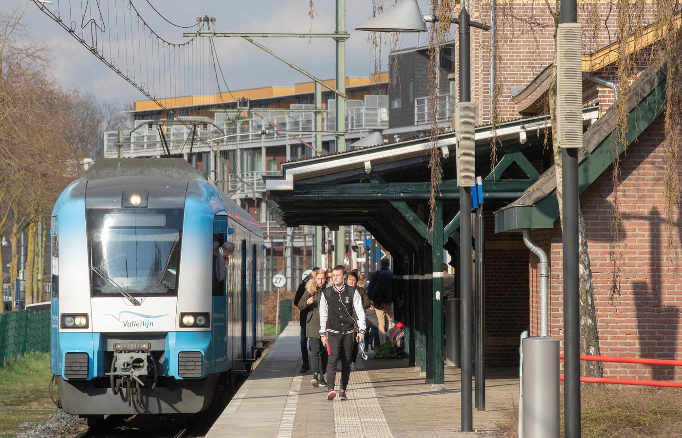 De Valleilijn bij station Ede-Centrum.
