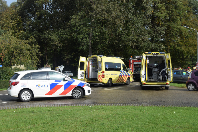 De hulpverlening in volle gang in Doetinchem.