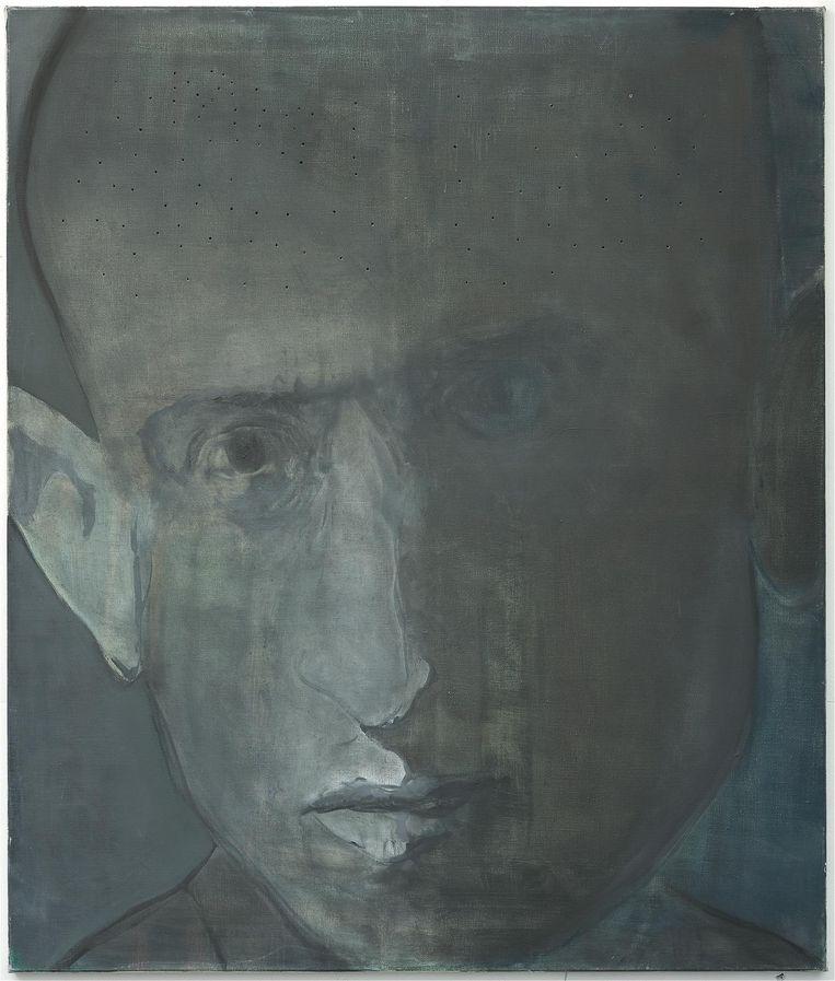Werk van Marlene Dumas Beeld Collectie JHM