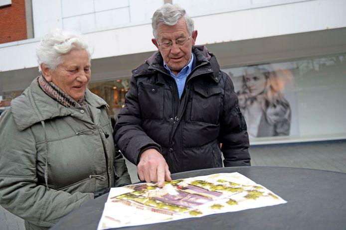 Het echtpaar Vrielink uit Goor is erg enthousiast over het plan.