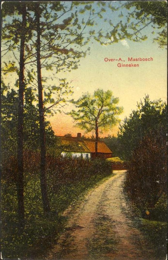 De buurtschap Overa in 1908.