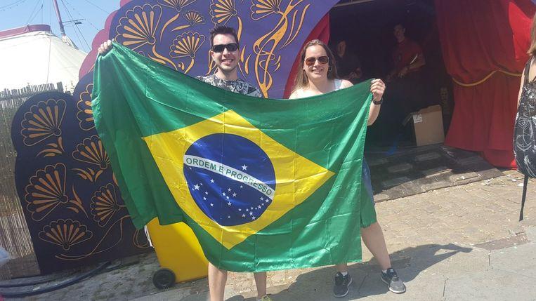 Airton en Daisy uit Brazilië.