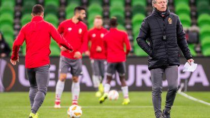 """Ook tegen het sterke Krasnodar past Standard zich niet aan: """"We stappen niet af van onze filosofie"""""""