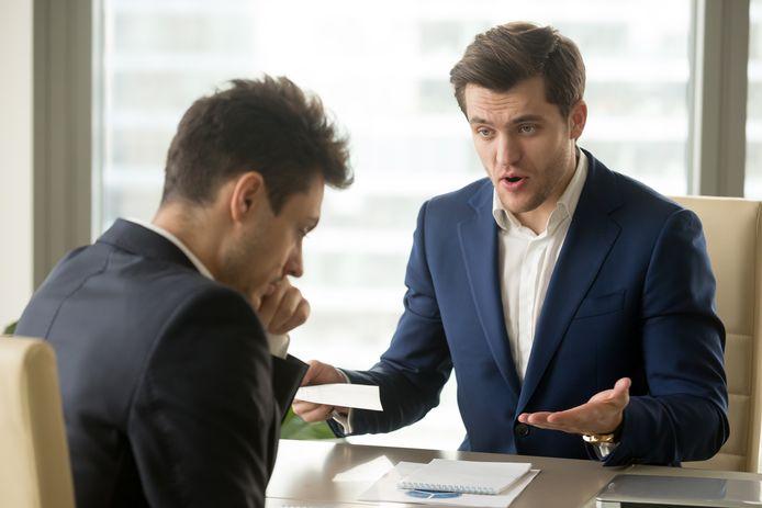 Foto ter illustratie: een kwart van de Nederlandse werknemers krijgt nooit een compliment.