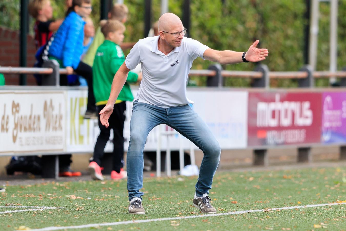 HSC'21-trainer Daniël Nijhof.