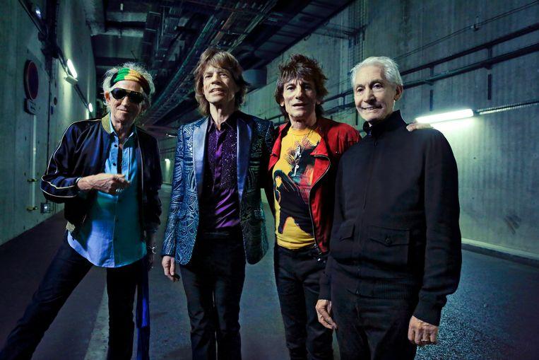 The Rolling Stones , foto Claude Gassian Beeld