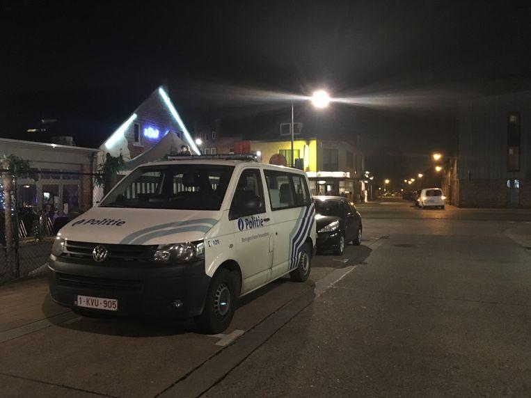 De politie Beringen, Ham, Tessenderlo kwam ter plaatse voor een onderzoek