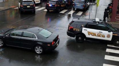 """Schietpartij aan de gang in Jersey City, nabij New York: """"Agent geraakt"""", meer dan 10 scholen in lockdown"""
