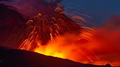 Etna opnieuw actief in Italië