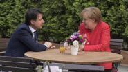 Merkel belooft Italië Duitse steun in vluchtelingencrisis