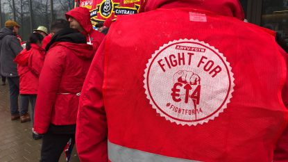 Socialistische vakbond verwerpt loonakkoord, ACV en ACLVB keuren het wel goed