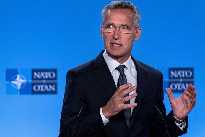 NAVO secretaris-generaal Jens Stoltenberg