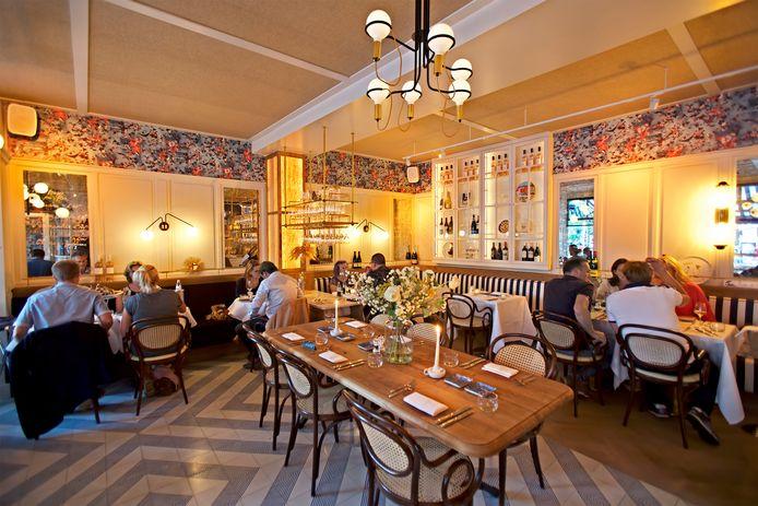 Voor restaurantrubriek Over de Tong restaurant Pampelonne aan het Van Coothplein in Breda. Foto Johan Wouters / Pix4Profs
