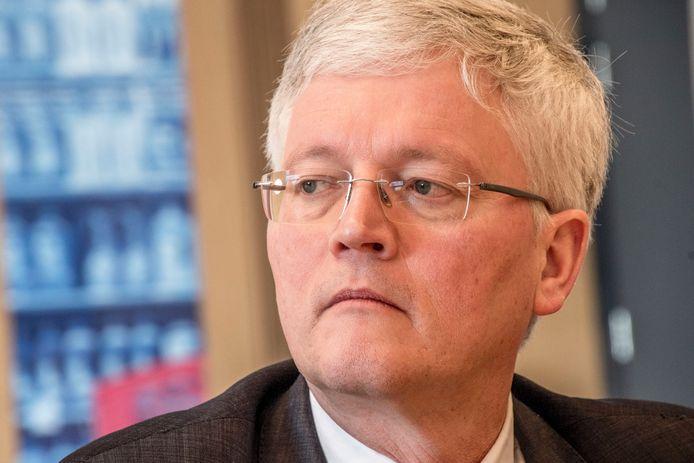 Theo Weterings, burgemeester van Tilburg.