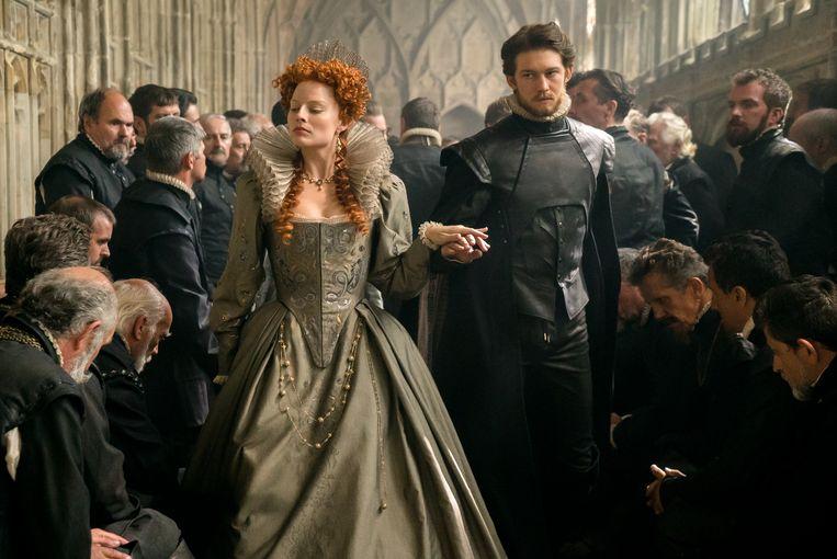 filmstill Mary Queen of Scots. Beeld