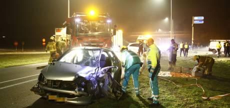 Twee gewonden na ongeval bij afrit A28 vlakbij Nunspeet