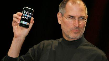 Lang voor de iPhone bedacht Steve Jobs de MacPhone. En die zag er helemaal anders uit