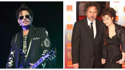 Helena Bonham-Carter en co houden interventie voor goede vriend Johnny Depp