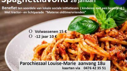 Sema organiseert spaghettiavond voor het goede doel