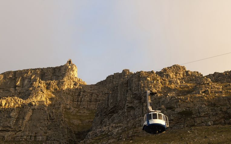 Table Mountain Aerial Cableway Beeld thinkstock