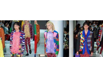 Comme des Garçons onder vuur voor modellen met 'racistische' pruiken